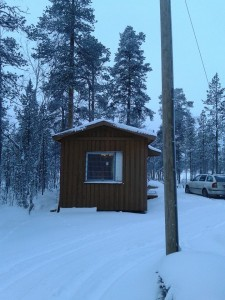 Aihkiniemi, Partakko, Inari 15.11.2014