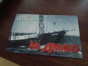 Radio Mi Amigo QSL card
